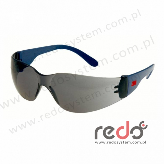 Okulary ochronne 2721 szare AS-AF (2721)
