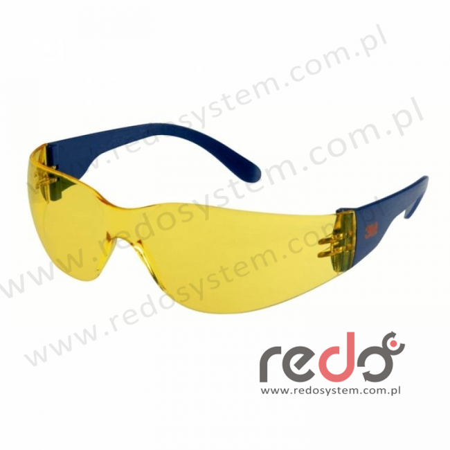 Okulary ochronne 2722 żółte AS-AF (2722)