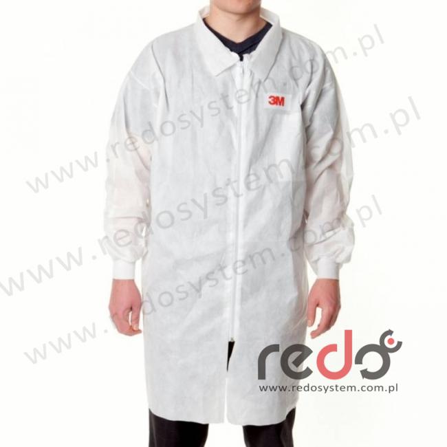 Fartuch laboratoryjny 4400 biały typ 5/6 rozmiar L  (4400)