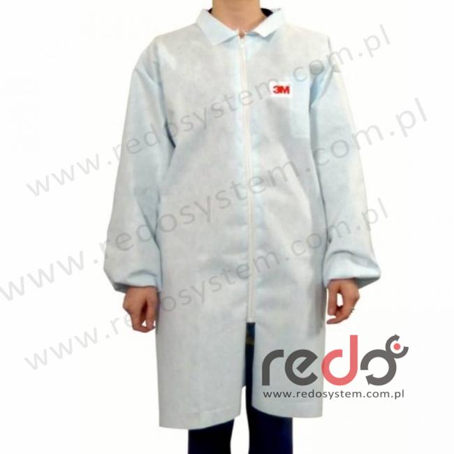 Fartuch laboratoryjny 4432+ biały typ 5/6 rozmiar L  (4432+)