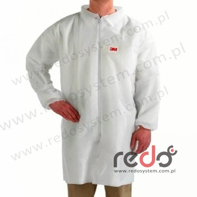 Fartuch laboratoryjny 4440 biały typ 5/6 rozmiar L (4440)