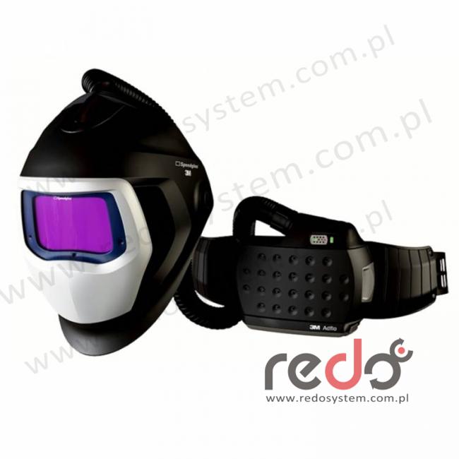 Przyłbica spawalnicza 3M™ Speedglas 9100 Air z filtrem 9100XX i z systemem Adflo  (z torbą)