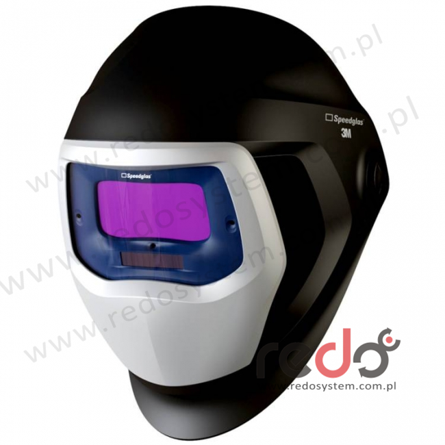 Przyłbica spawalnicza 3M™ Speedglas serii 9100, z bocznymi szybkami SW, filtr 9100V, zaciemnienie 5/8/9-13 (501805)
