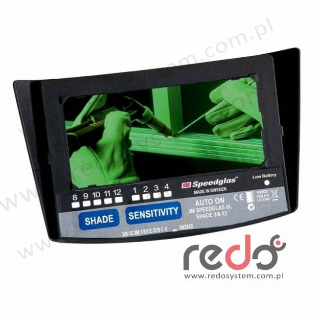 Autamatyczny filtr spawalniczy 3M™ Speedglas SL zaciemnienie 3/8-12 (700020)