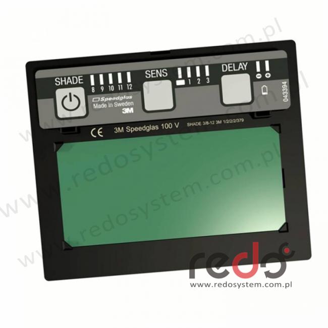 Automatyczny filtr spawalniczy 3M™ Speedglas 100V, zaciemnienie 3/8-12 (750020)