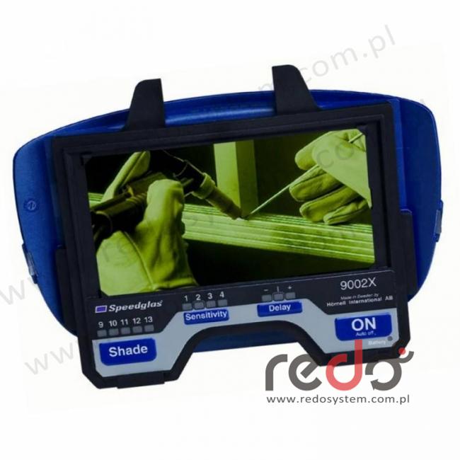 Automatyczny filtr spawalniczy 3M™ Speedglas 9002X zaciemnienie 9-13 (400080)