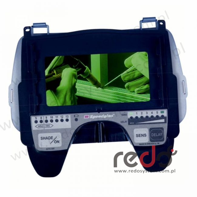 Automatyczny filtr spawalniczy 3M™ Speedglas 9100V zaciemnienie 5/8/9-13 (500005)