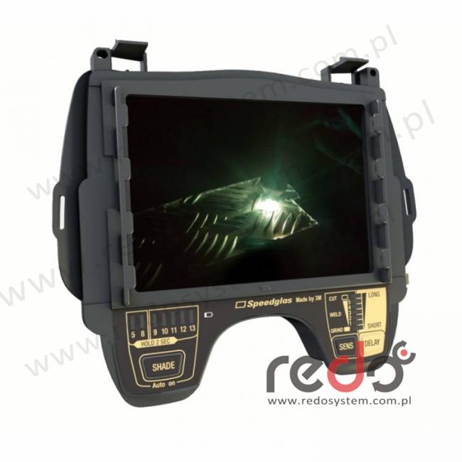 Automatyczny filtr spawalniczy 3M™ Speedglas 9100XXi, srebrna osłona czołowa, zaciemnienie 5/8/9-13 (500126)
