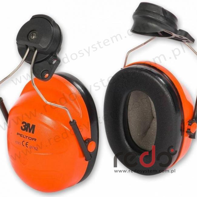 Dołączane nauszniki przeciwhałasowe 3M™ Peltor do nagłowia Versaflo serii M-100 i M-300