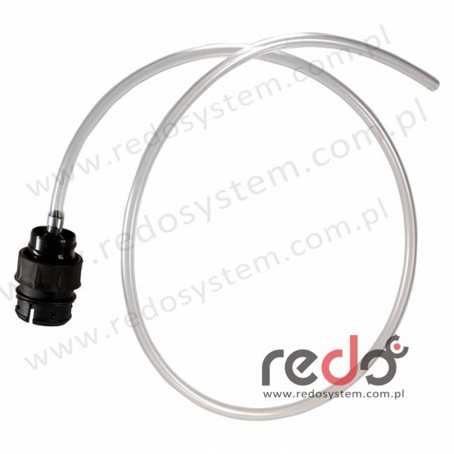 3M™ Wąż oddechowy przezroczysty z nyplem, bez szybkozłącza QRS  (853062)
