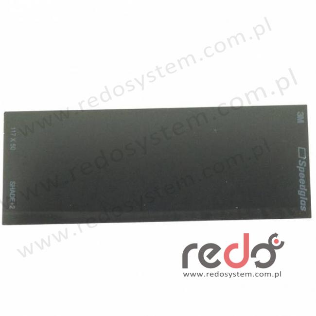 3M™ Wewnętrzna szybka +2DIN do przyłbice 3M™ Speedglas 9100 V  (117x50)  (528007)
