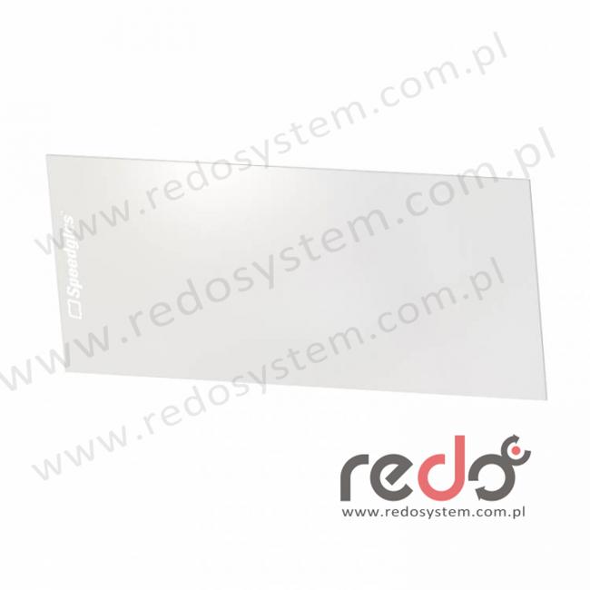 3M™ Wewnętrzna szybka ochronna do filtra 9100X do przyłbic serii 3M™ Speedglas 9100  (117x61)  (528015)