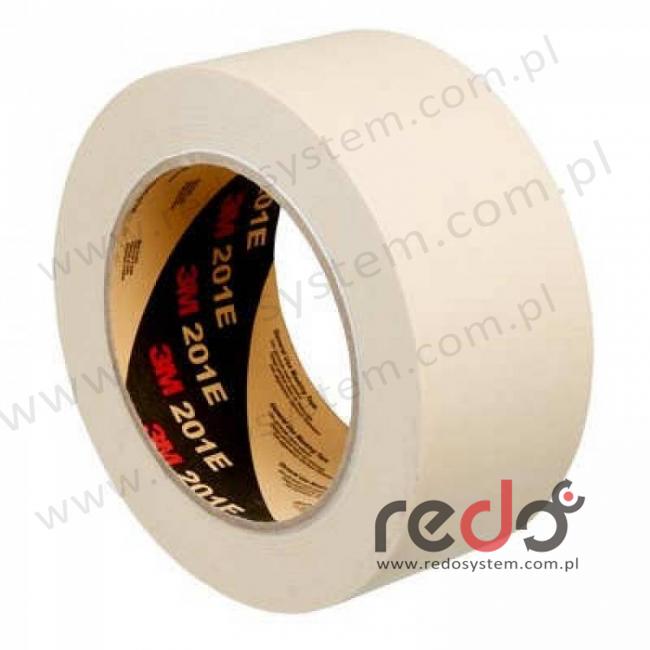 Papierowa taśma maskująca duct 3M™ 201E 24mm x 50m