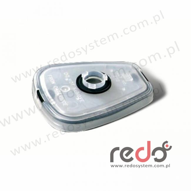 3M™ łącznik umożliwiający kombinację pochłaniaczy z filtrami przeciwpyłowymi serii 2000 (502)